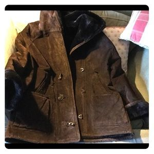 Gallery Shearling Leather Jacket